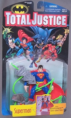 Total Justice League Batman: Superman Action Figure