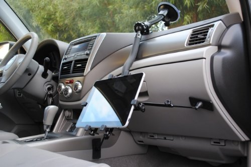 Mobotron MS-323PA Car Suction Mount Holder for iPad/Tablets