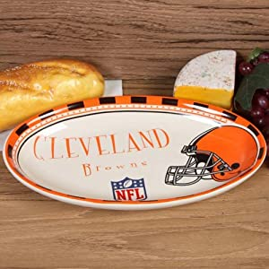 Buy Memory Company Cleveland Browns Game Day Serving Platter by The Memory Company