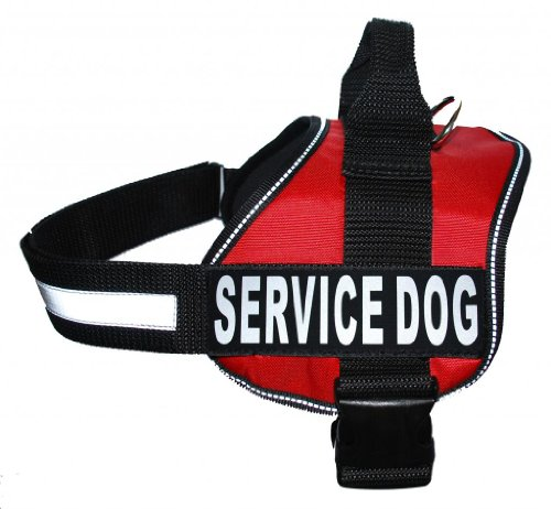 Service Dog Harness Vest Cool Comfort Nylon for dogs Small Medium Large 14 -39