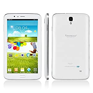 "Sanei G706 3G Tablet White 7"" MTK8312 Dual core 8GB ROM Android 4.2 UNLOCKED"