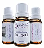 Essential Tea Tree Oil - 100% Pure, Premium Quality Melaleuca Alternifolia - Treats Skin Tags, Fungus and Acne - Great 10ml Travel Size Bottle!