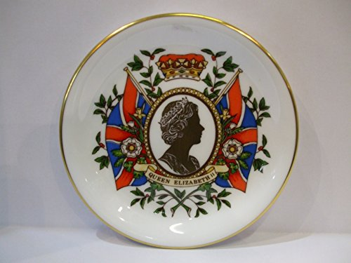 Caverswall English Bone China COMMEMORATIVE Her Majesty Queen Elizabeth 11 Coronation 1953 - 1993