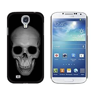 Graphics and More Human Skull Front View Snap-On Hard Protective Case for Samsung Galaxy S4 - Non-Retail Packaging - Black