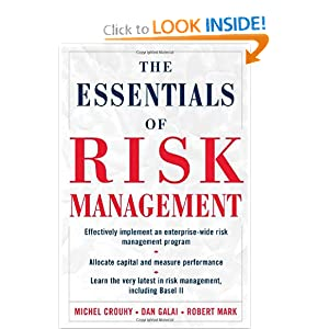 The Essentials of Risk Management Robert Mark