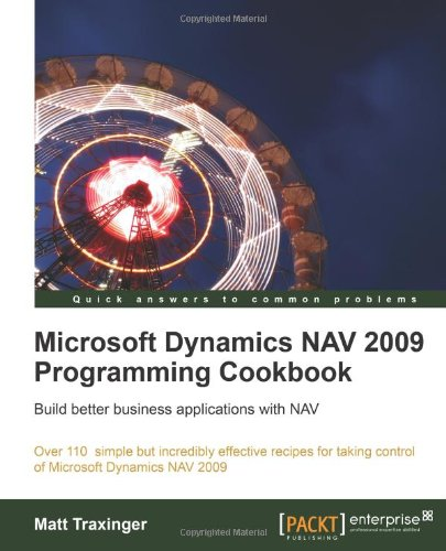 Microsoft Dynamics NAV 2009 Programming Cookbook, Buch
