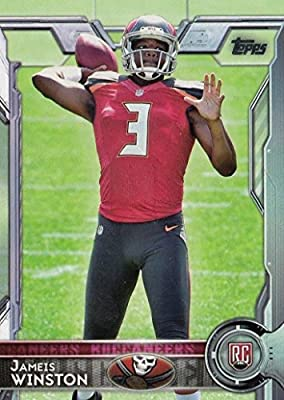 2015 Topps Jameis Winston (RC) #500 Tampa Bay Buccaneers - Forida State - NFL Trading Card In a Protective Screwdown Case!