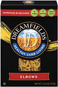 Dreamfields Pasta Healthy Carb Living - Elbows - 13.25 ounces
