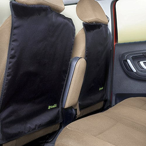 Sale!! BLACK FRIDAY SALE 47% OFF-High Quality Kick Mats By Bekoru Travel * Large Car Seat Back Prote...