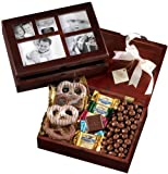 Broadway Basketeers Photo Gift Box, Chocolate