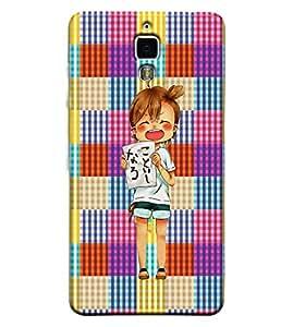 Printvisa 3D Printed Cartoon Designer back case cover for Xiaomi MI4 - D4270