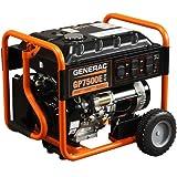 Generac 5943 GP7500E 7,500 Watt 420cc OHV Portable Gas Powered Generator with Electric Start