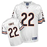Reebok Chicago Bears Matt Forte Replica White Jersey Medium
