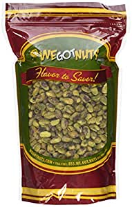 Pistachios Shelled Raw Unsalted, 2Lbs - We Got Nuts