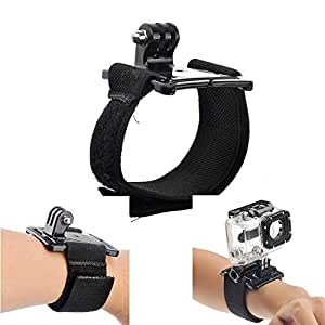 New Wrist Strap Band Mount for GoPro Hero 2 Hero3 Hero3+ Cameras (Without Screw)