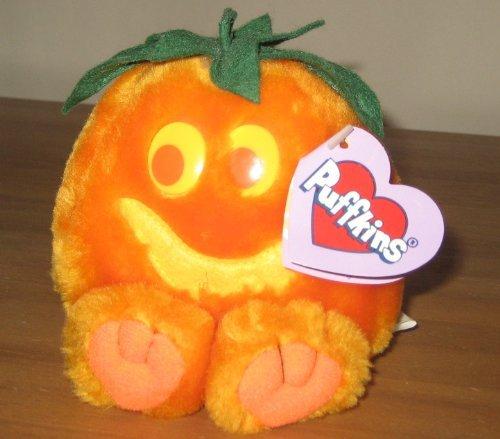 Puffkins Bean bag, NWT - Jack - Halloween, Jack o Lantern by Swibco - 1
