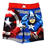 Captain America Boys Swim Trunks Swimwear