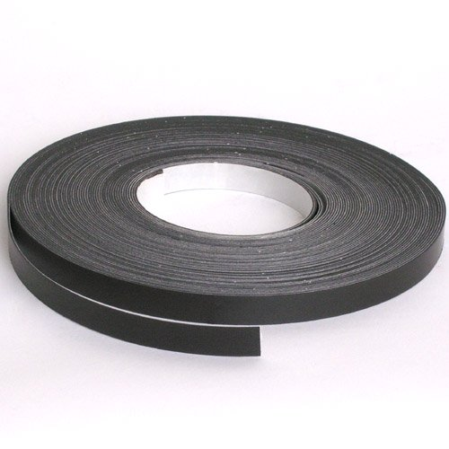 Storesmart® - Magnetic Tape Roll - Peel & Stick Backing - 1/2 Inch X 100 Feet - Magstb0 front-496815