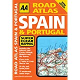 AA Road Atlas Spain and Portugal (AA Atlases and Maps)by AA Publishing