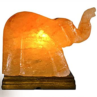 Salt Lamps Whole Foods : Fantasia Lighting: Top Grade Natural Himalayan Elephant Shape Salt Lamp with Dimmer Switch ...