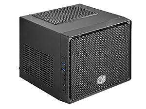Cooler Master Elite 110 - Mini-ITX Small Form Factor Computer Case, Supports standard ATX PSU - Black, USB 3.0