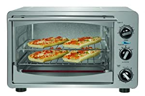 Kalorik stainless steel 6 slice convection toaster oven kitchen dining for Toaster oven stainless steel interior
