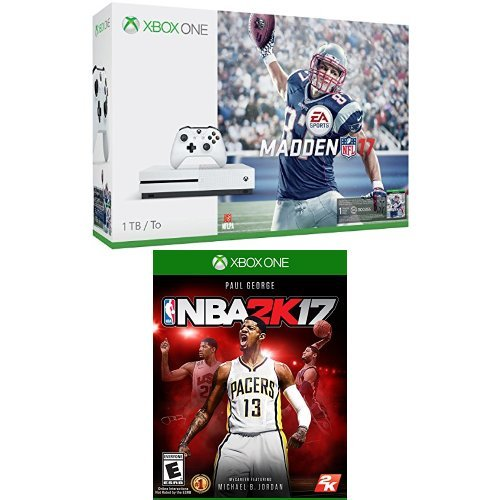 Xbox-One-S-1TB-Console-Madden-NFL-17-Bundle-and-NBA-2K17