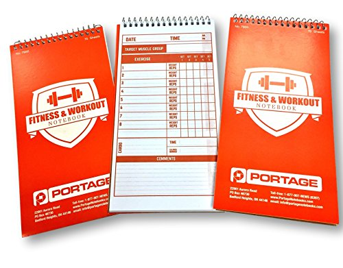 Portage Fitness & Workout Notebook, 4