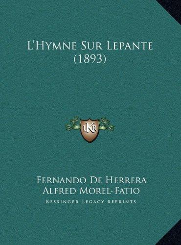 L'Hymne Sur Lepante (1893)