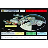 Star Trek Poster Next Generation Enterprise - Poster Großformat