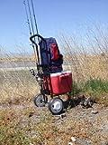 Genji steel tubes fishing cart, beach cart