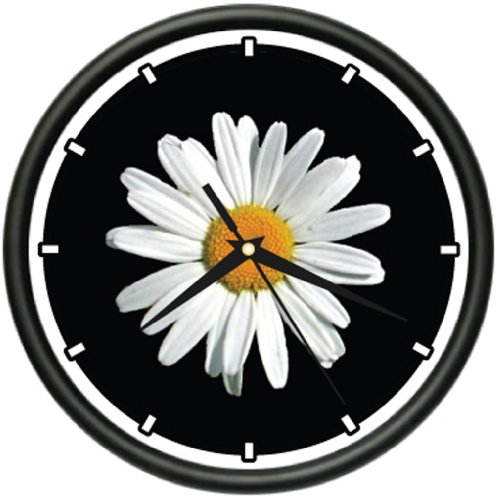 DAISY Wall Clock daisies flower flowers florist gift