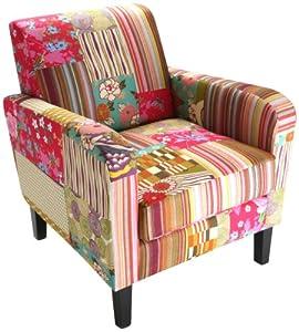 versa fauteuil club patchwork cuisine maison. Black Bedroom Furniture Sets. Home Design Ideas