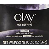 Olay Age Defying Classic Daily Renewal Cream Facial Moisturizer 2 Oz