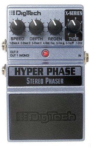 Digitech XHP Hyper Phase Stereo Phaser Guitar Pedal