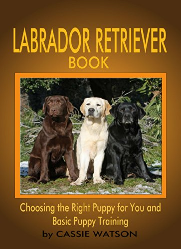 Free Kindle Book : Labrador Retriever Book: Choosing the Right Puppy for You and Basic Puppy Training (Labrador Dogs Book 1)