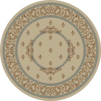 Concord Global Jewel F.Lys Medallion Ivory 5'3