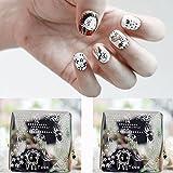 Wapiti Dialogue Pattern Nail Art Stamp Template Image Plate QA-Y026 # 22253