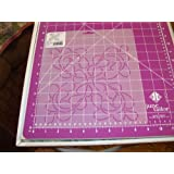 Quilting Creations Feathered Curls Quilt Stencil