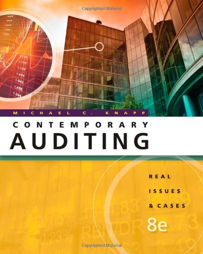 Auditing Cases: An Interactive Learning Approach, 6th Edition