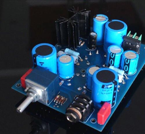 Douk 6N5P+6N11(France 6080Wa+Czech Jcc88) Single-End Class A Tube Amp Headphone Kit