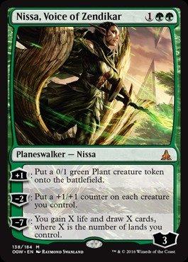 Magic: the Gathering - Nissa, Voice of Zendikar - Nissa, Voce di Zendikar - Oath of the Gatewatch