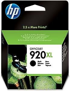 Hewlett Packard [HP] No. 920XL Inkjet Cartridge Page Life 1200pp Black Ref CD975AE#BGX