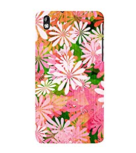 Floral Painting 3D Hard Polycarbonate Designer Back Case Cover for HTC Desire 816::HTC Desire 816 G::HTC Desire 816D::HTC Desire 816G (Octa Core)