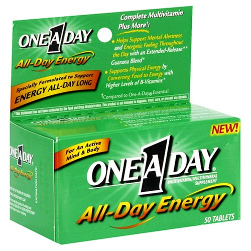 One A Day Energy, 50 Count (One A Day Energy Multivitamin compare prices)