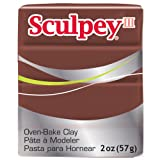 Sculpey III Polymer Clay 2 Ounces-Chocolate