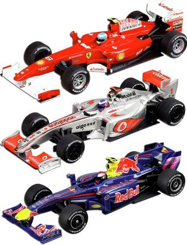 Imagen principal de Carrera 20030154 DIGITAL 132 Formula 1 Champions - Circuito con tres vehículos a escala 1:32 [Importado de Alemania]