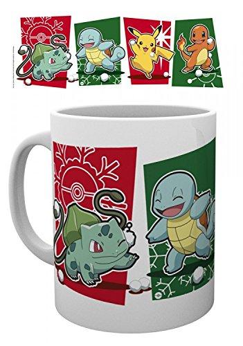 Pokemon-Snowball-Starters-Bulbasaur-Squirtle-Pikachu-Charmander-Taza-Foto-9-x-8cm