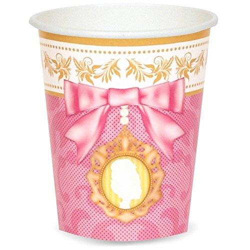 Princess Tea Party 9 oz. Paper Cups (8) - 1