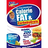 The CalorieKing Calorie, Fat, & Carbohydrate Counter 2013 ~ Allan Borushek